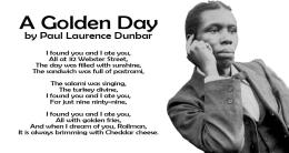 Tuesday Paul Laurence Dunbar