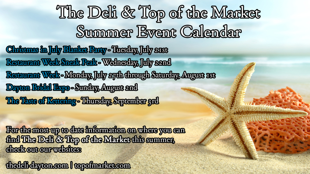 Summer Events Calendar